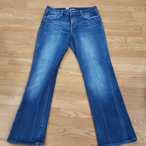 Kut from the kloth stretch boot cut jeans
